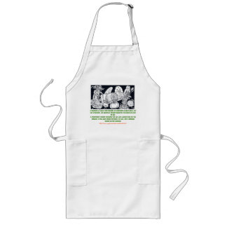"""""""The requisite incompatibilities"""" Long Apron"""
