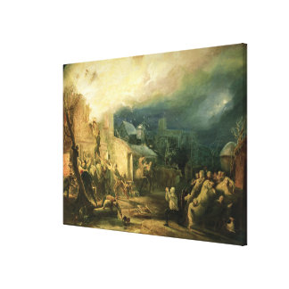 The Rescue of John Wesley Canvas Print
