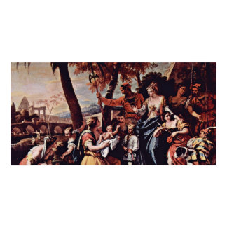 The Rescue Of The Moses Boy By Ricci Sebastiano Photo Greeting Card