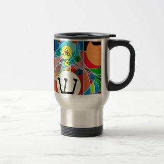 The Resh Shin Tav - Hebrew alphabet Travel Mug
