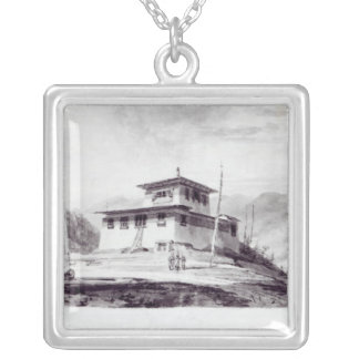 The Residence of Lam Glassa-too Silver Plated Necklace