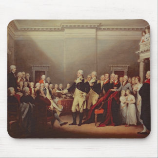 The Resignation of George Washington Mouse Pad