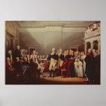 The Resignation of George Washington Poster