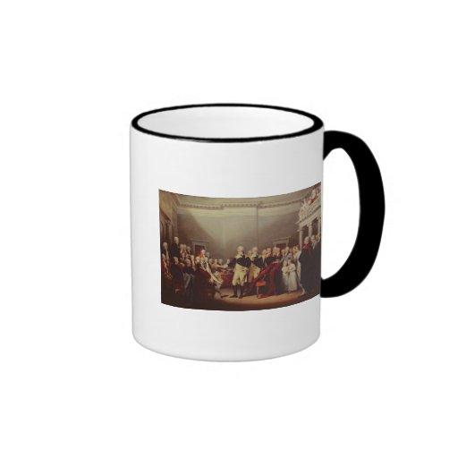 The Resignation of George Washington Ringer Mug
