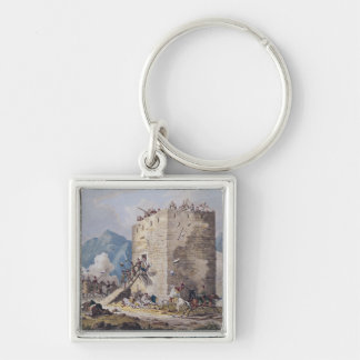 The Resistance of Forty Greek Rebels Keychain