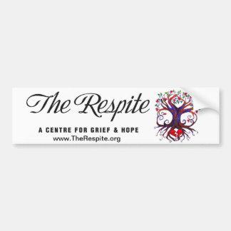 The Respite Bumper Sticker Car Bumper Sticker