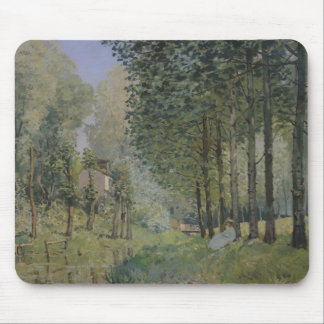 The Rest by the Stream. Edge of the Wood, 1872 Mouse Pad