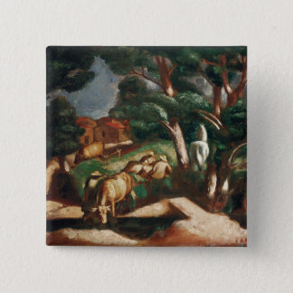 The Rest in the Country, 1925 Pinback Button