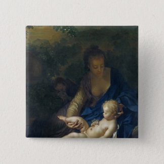 The Rest on the Flight into Egypt, 1706 Button