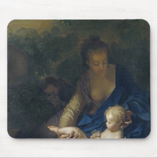 The Rest on the Flight into Egypt, 1706 Mouse Pad