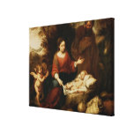 The Rest on the Flight into Egypt Canvas Print