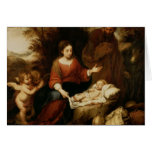 The Rest on the Flight into Egypt Greeting Card