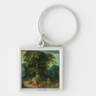 The Rest on the Flight into Egypt Keychain