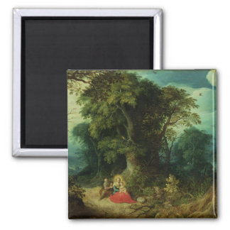 The Rest on the Flight into Egypt Magnet