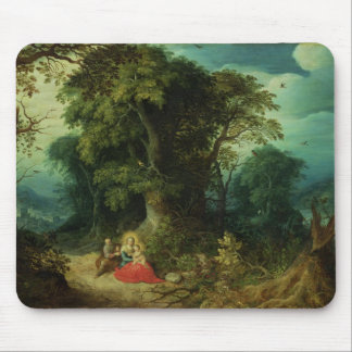 The Rest on the Flight into Egypt Mouse Pad