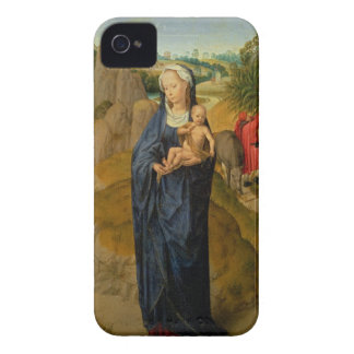 The Rest on the Flight into Egypt (oil on panel) iPhone 4 Case-Mate Case