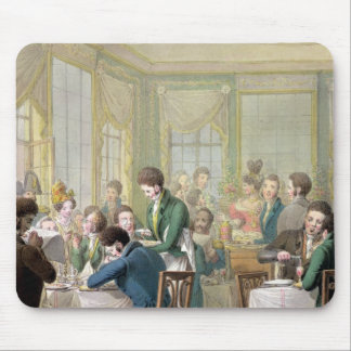 The Restaurant in the Palais Royal, 1831 Mouse Pad