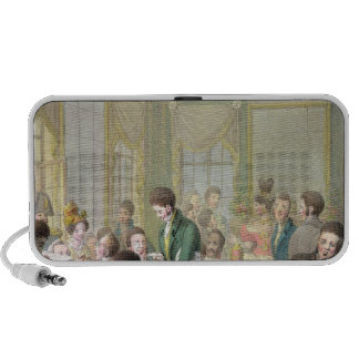The Restaurant in the Palais Royal, 1831 iPhone Speakers