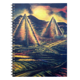 The Resting Place, Pyramids Notebook