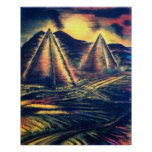 """The Resting Place"""" Pyramids Posters"""