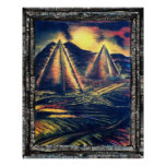 The Resting Place, Pyramids Print