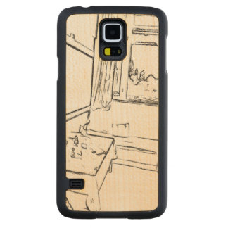 The Resting Room Carved Maple Galaxy S5 Slim Case