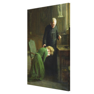 The Restitution, 1901 Canvas Print