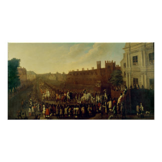 The Restoration of Charles II  at Whitehall Print