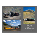 The Restored D&RG 315 in Silverton Postcard
