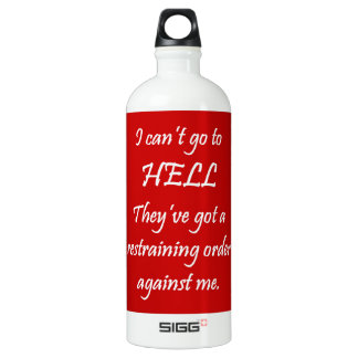 The Restraining Order SIGG Traveler 1.0L Water Bottle