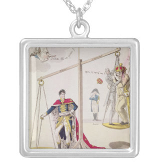 The Result of the Day of the Three Emperors Silver Plated Necklace