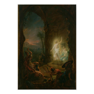 The Resurrection, 1763 Poster