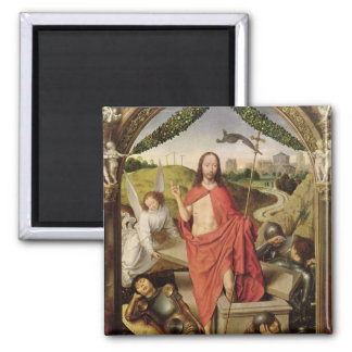 The Resurrection 2 Inch Square Magnet