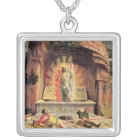 The Resurrection 2 Silver Plated Necklace