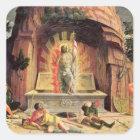 The Resurrection 2 Square Sticker