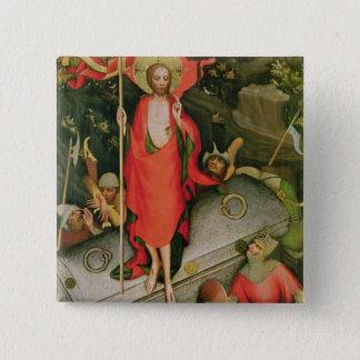 The Resurrection, c.1380 Pinback Button