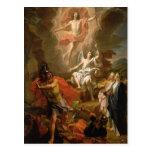 The Resurrection of Christ, 1700 Postcard