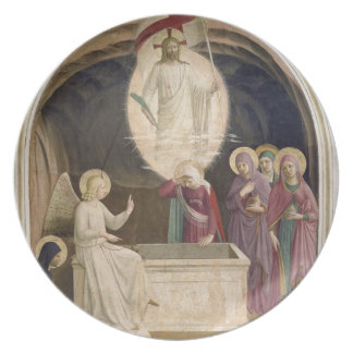 The Resurrection of Christ and the Pious Women at Party Plates