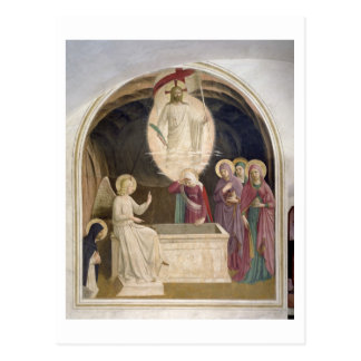 The Resurrection of Christ and the Pious Women at Postcard