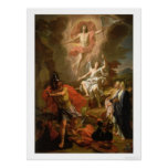 The Resurrection of Christ by Noel Coypel (1700) Posters