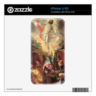 The Resurrection of Christ (oil on canvas) Decal For iPhone 4S