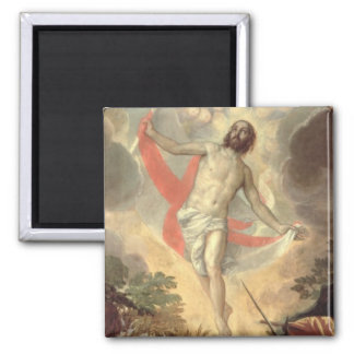 The Resurrection of Christ (oil on canvas) Magnet