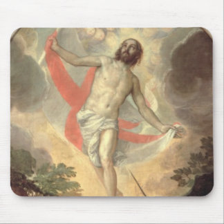 The Resurrection of Christ (oil on canvas) Mouse Pads