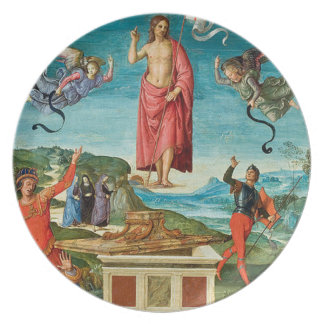 'The Resurrection of Christ' Party Plate