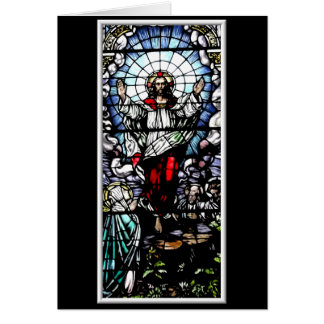 The Resurrection of our Lord Stained Glass Cards