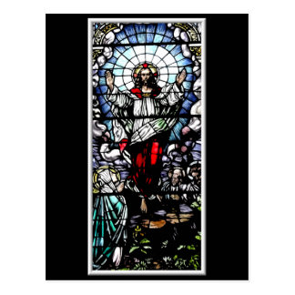 The Resurrection of our Lord (Stained Glass) Postcard