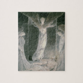 The Resurrection: The Angels rolling away the Ston Puzzle