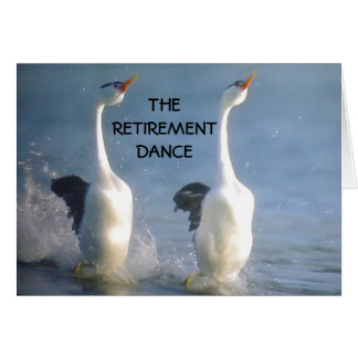 THE RETIREMENT DANCE ESPECIALLY FOR YOU CARD