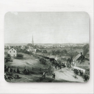The Retreat of the British from Concord Mouse Pad