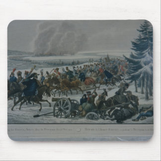 The retreat of the French army from Moscow Mouse Pads